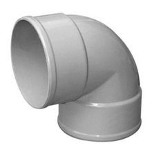 "Multi Fittings - 6"" PVC Sewer 90° (1/4) Bend Vent Elbow H X H"