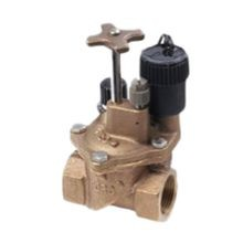 "Toro - 1-1/4"" Brass Electric In-Line Valve"