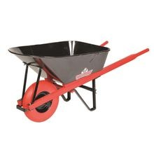 Sterling - 7CF Wheelbarrow with Steel Tray and U-Flat Free Tire