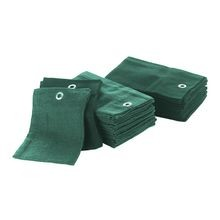 Par Aide - Trifold Cotton Tee Towel - Hunter Green - Pack of 12