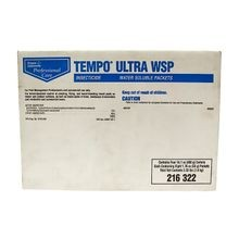 Bayer - Tempo Ultra WSP Insecticide - 4 Boxes of 8 - 1.7 OZ Packets
