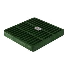 "NDS - 9"" Green Square Grate"