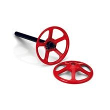 ParAide - Round Portable Base - Red