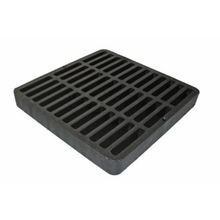 "NDS - 9"" x 9"" Black Square Grate"