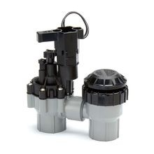 "Rain Bird - 1"" Electric Valve With Flow Control and Backflow Prevention"