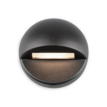 WAC Lighting - 2.8W LED Circle Deck Light - 2700K - Bronze on Brass