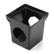 "Rain Bird - 12"" Square Drainage Catch Basin - 2 Outlets"