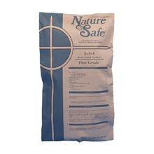 Nature Safe - 8-3-5 Stress Guard Super Fine Grade Fertilizer - SGN 130-140 - 50 LB BAG