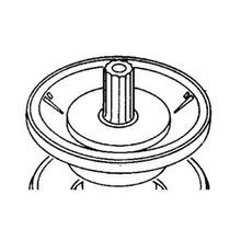"Toro - 2"" Diaphragm Assembly For 252 Series"