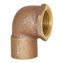 "Legend Valve & Fitting - 1"" 90° Brass Street Elbow - C X FIP"