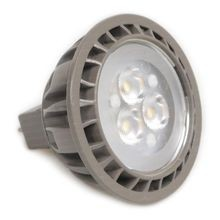 Brilliance - 5W 60° MR16 LED Lamp - Silver Green