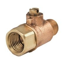 "Legend Valve & Fitting - 1/4"" X 1/8"" T-801NL No Lead Brass Ball Valve Test Cock - FNPT X MNPT"