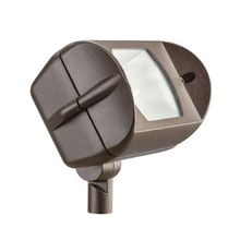 Kichler - 50W Adjustable Incandescent Wide Flood Uplight - Textured Architectural Bronze