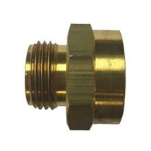 "Anderson Pump & Process - 1"" X 3/4"" Brass Hose Adapter - FGHT X MGHT"