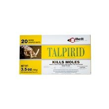 Bell Laboratories - Talpirid Mole Bait - Box of 20 Worms