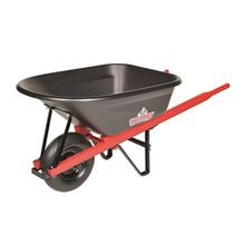 Sterling - 6CF Wheelbarrow with Poly Tray and 4-Ply Tire