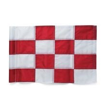 Par Aide - Tube Style Regulation Flag - Red & White Checkered - Set of 9