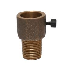 "Cast - 1/2"" Transition Adapter - MPT X Female Socket - Bronze"