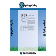 Spring Valley - 25-0-4 STD 50%Regain 12%Amsul 12%Topcut MOP - 50 LB Bag