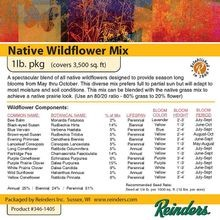 Reinders - Wisconsin Native Wildflower Mix - 1 LB Bag