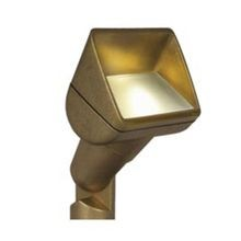 FX Luminaire - PB Series 1LED Wall Wash - Bronze Finish
