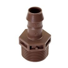 Rain Bird -  Barb Male Adapter 17 mm X 3/4