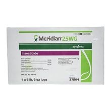 Syngenta - Meridian 25WG Insecticide - Case of 4 - 102 OZ JUGS