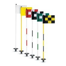 Par Aide - JR Flagstick Practice Green Marker - Yellow - Set of 9
