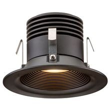 FX - RC Series 1 LED ZD Downlight - Flat Black