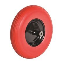 Sterling - Poly-U Flat Free Tire with Steel Rim