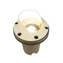 FX - FC Series 1 LED ZD Well Light with Cowling Faceplate - White Gloss