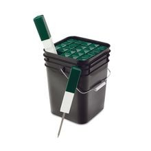 Par Aide - Directionl Markers - Green & White - Bucket of 25