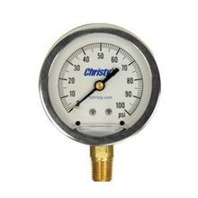 "T Christy Enterprises - 2-1/2"" Liquid Pressure Gauge"