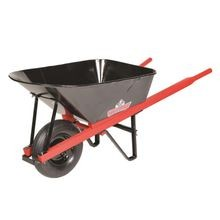 Sterling - 7CF Wheelbarrow with Steel Tray and 4-Ply Tire