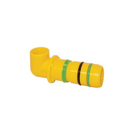 "Blazing - Fast Fittings End of Line Elbow, Insert x 1/2"" FPT"