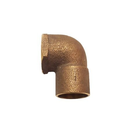 "Legend Valve & Fitting - 1"" 90° Brass Street Elbow, C X FIP"