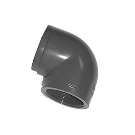 "Spears - 1"" Sch80 PVC 90° Elbow FPT X FPT"
