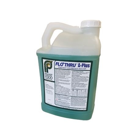 Plant Food Co - FloThru™ A-Plus Penetrant & Bicarbonate Reducer - Case of 2 - 2.5 GAL Jugs
