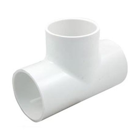 "Multi Fittings - 4"" PVC Sewer Tee Slip X Slip X Slip"