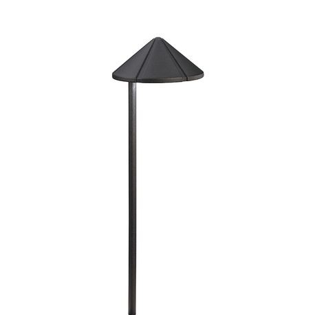 Kichler - Side Mount 24.4W Incandescent Path Light -Textured Black