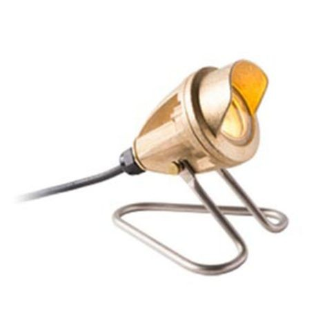 FX Luminaire - LB Series Underwater Brass MR16 50W With 9' Cord