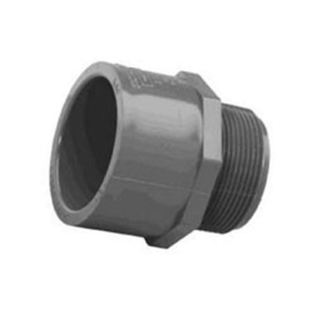 "Spears - 1-1/2"" Sch80 PVC Male Adapter MPT X Slip"