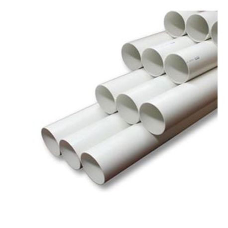 "Cresline - 8"" X 20' PVC Pipe With Bell End"