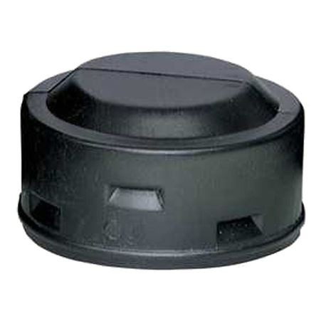 "ADS - 3"" Single Wall Snap End Cap Fitting"