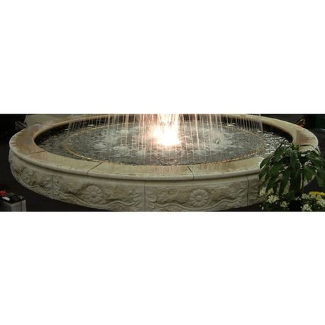 15'Granite Fountain Pool