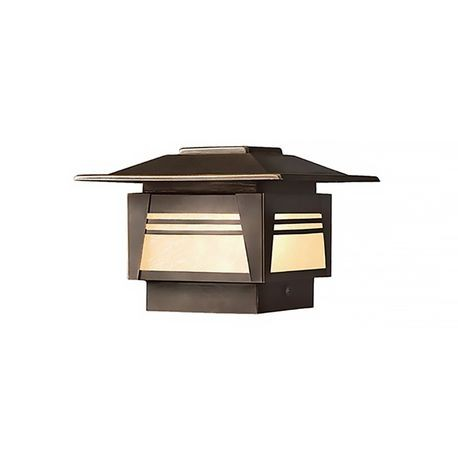 Kichler - Zen Garden 16.25W Incandescent Deck Post Light - Olde Bronze