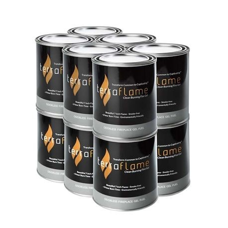 FlameStone Flame Gel - Pack of 12 - 13 OZ Cans