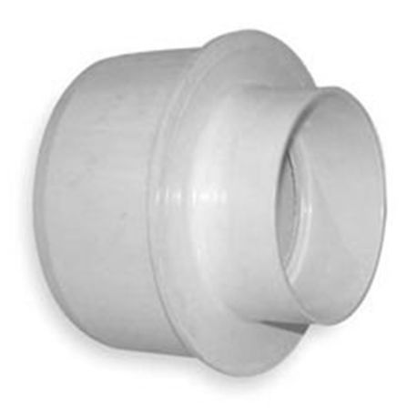 "Multi Fittings - 6"" X 4"" PVC Sewer Reducer Bushing"
