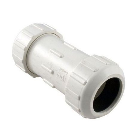 "NDS - 1-1/2"" PVC Compression Coupling"