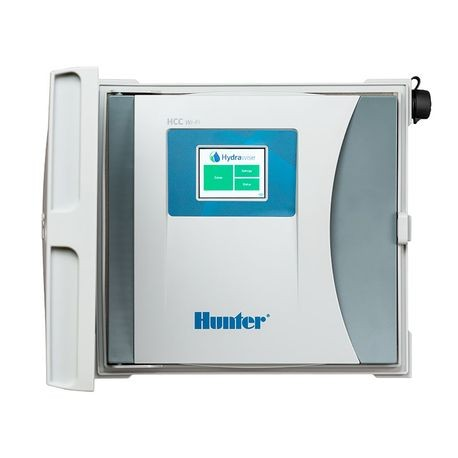 Hunter 8 Station Hcc Controller With Plastic Wall Mount